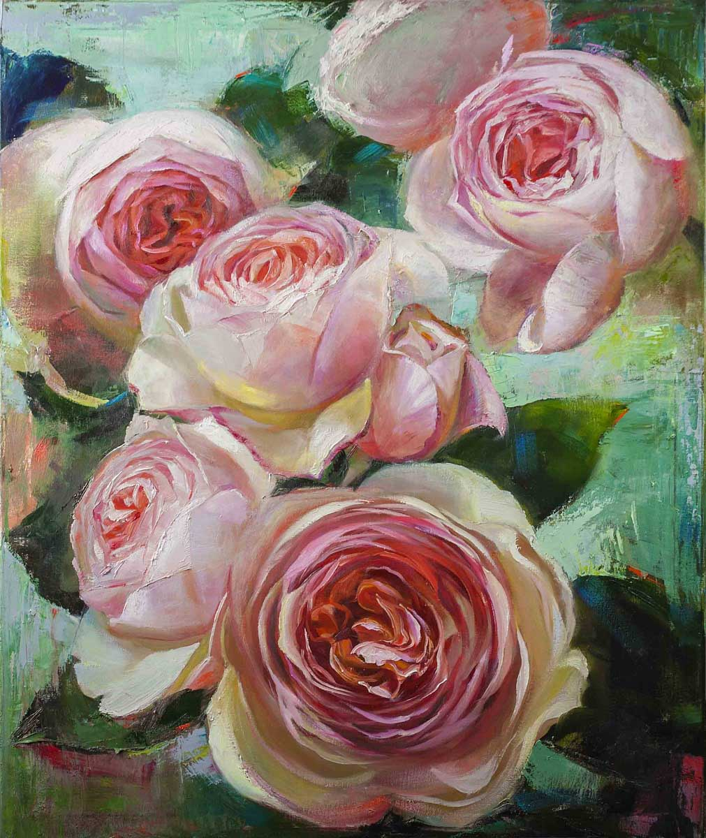 cLYUB 123 Blooming Roses 36 x 30