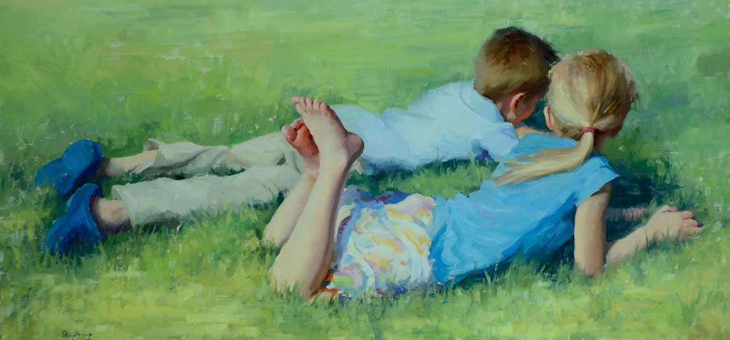 cOLE 196 Green Pastures  18 x 36