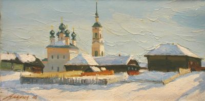Andrey Alekhin - Church in Shunga