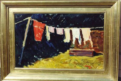 Albert Anni - Clothes Drying