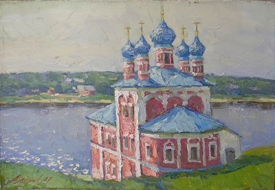 Andrey Alekhin - Church on the River, 2007