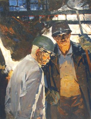 Nikolai Baskakov - Foundry Workers