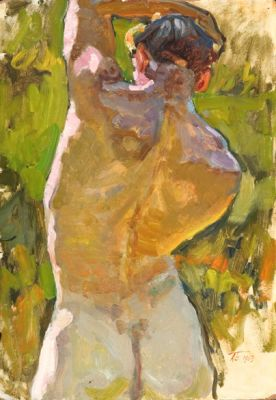 Sold Works: Aleksei Borodin - Male Study