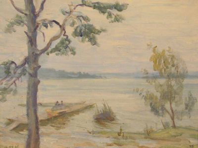 Sold Works: Vsevolod Brodsky - Lake
