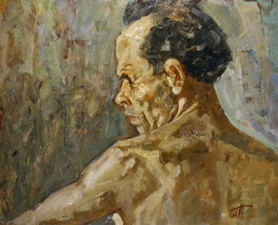 Aleksei Borodin - Self Portrait, 1960