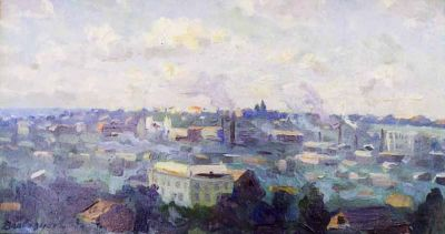 Valentin Sizikov - View of Kharkov