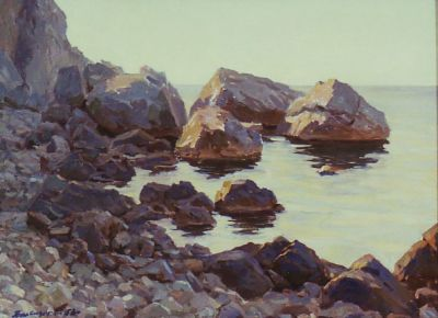 Valentin Sizikov - Rocks of Crimea