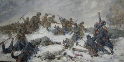 Alexander Chizov - Defense of Stalingrad, 1949