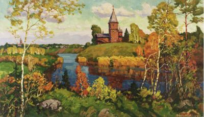 Sold Works: Evgeni Chuikov - Russian Motif