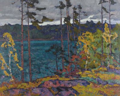 Sold Works: Evgeni Chuikov - On the River