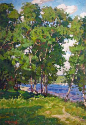 Sold Works: Evgeni Chuikov - Summer Breeze