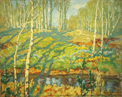 Sold Works: Evgeni Chuikov - Spring