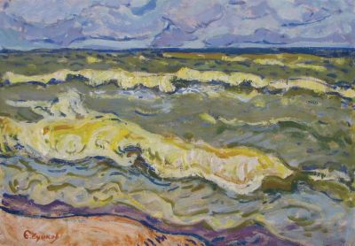 Sold Works: Evgeni Chuikov - Waves