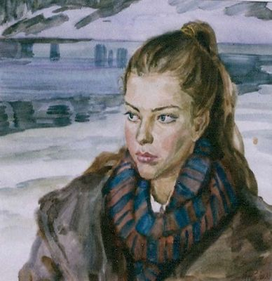 Libert Feigin - Winter Stare, 1989