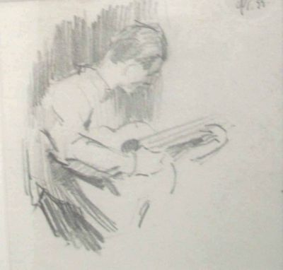 Fedir Glyshuk - Playing Guitar
