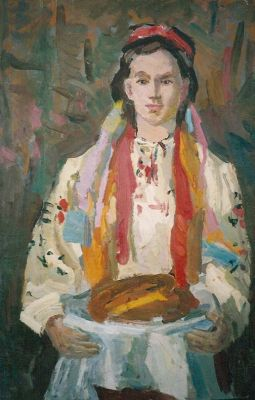 Alexander Godunov - Girl with Bread