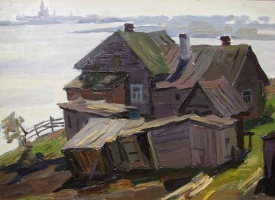 Alexander Godunov - Old House on the Volga