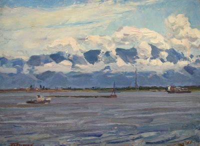 Alexander Godunov - On the Dnieper, 1962