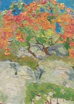 Sold Works: Vasili Gurin - Autumn