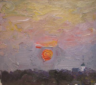 Sold Works: Vasili Gurin - Sunset