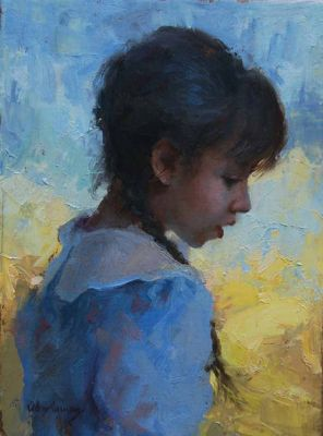 Select Sold Works: Marci Oleszkiewicz - Gentle Beauty