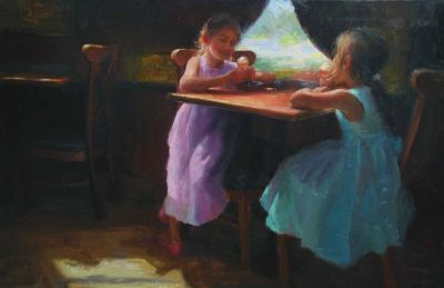 Select Sold Works: Marci Oleszkiewicz - Ice Cream Shop