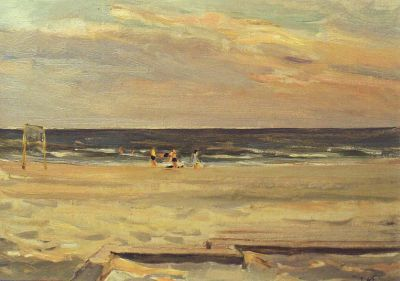 Sold Works: Ilmar Kimm - Dzintar Beach, Latvia