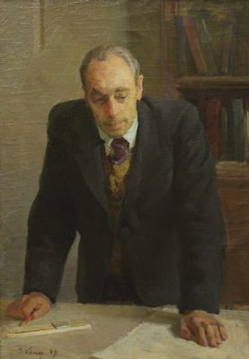 Ilmar Kimm - Portrait of Engineer Kokas