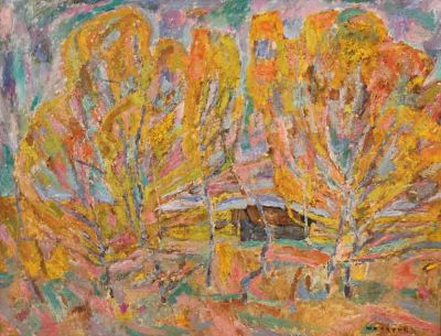 Valeri Kokurin - Autumn Trees