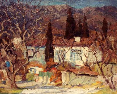 Vladimir Korobov - Road in Yalta