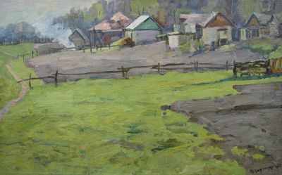 Yuri Koryakin - Morning on the Kolkhoz