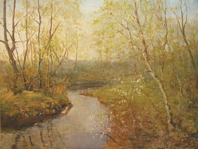 Sold Works: Vladimir Krantz - Creek