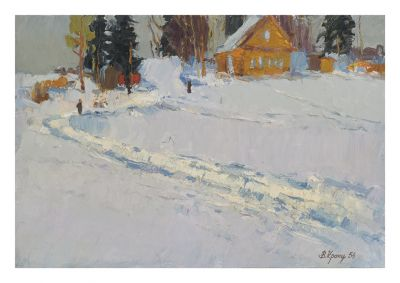 Sold Works: Vladimir Krantz - At Old Ladoga