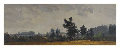 Sold Works: Vladimir Krantz - Edge of the Forest