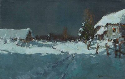 Select Sold Works: Alexander Kremer - Night