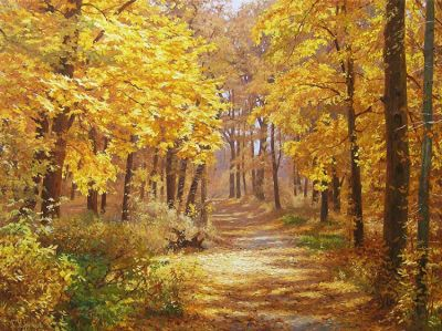  Select Sold Works: Gennadi Kirichenko - The Autumn Charm