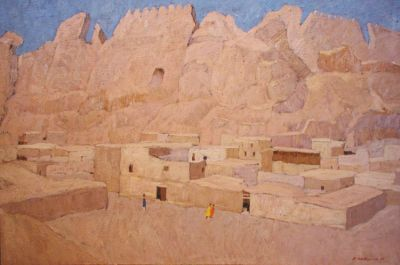 Valeri Kokurin - Ruins of the Palace of the Bokhara Emir