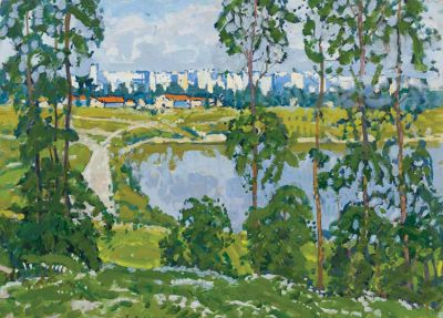 Georgi Kolosovski - View from the Park