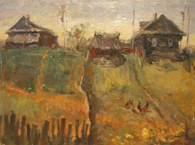 Nikolai Kononenko - In a Village, 1975