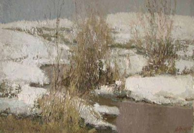 Sold Works: Vladimir Krantz - First Thaw