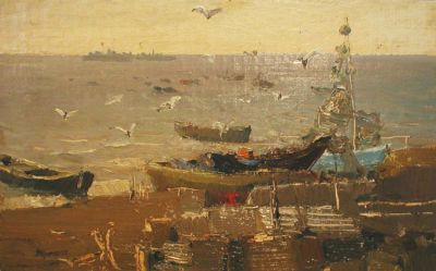 Sold Works: Vladimir Krantz - Boats