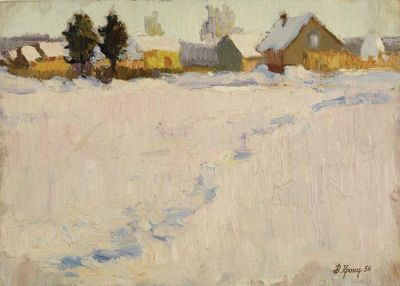 Sold Works: Vladimir Krantz - Winter