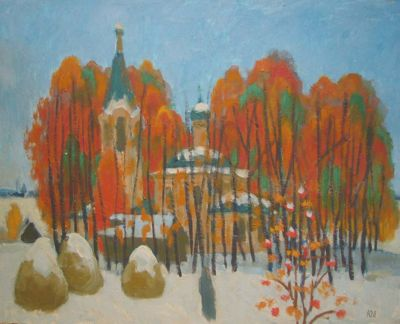 Yuri Lobachev - Early Winter Day