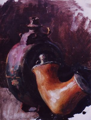 Konstantin Lomykin - Pipe and Flask