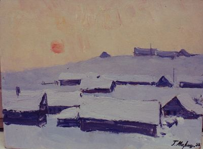 Sold Works: Gavriil Malysh - Winter Sun