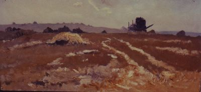 Sold Works: Gavriil Malysh - In the Steppes