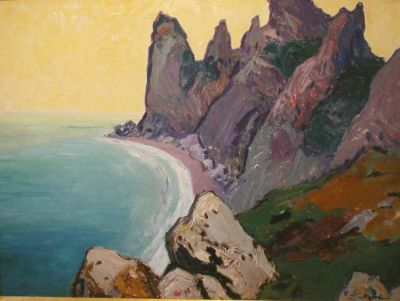 Sold Works: Gavriil Malysh - Seaside