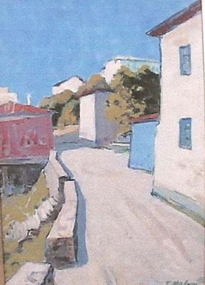 Sold Works: Gavriil Malysh - Road in Crimea