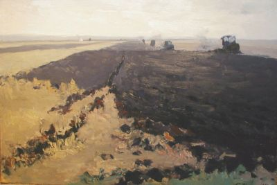 Sold Works: Gavriil Malysh - On Virgin Fields