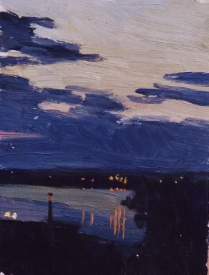 Sold Works: Vladimir Masik - Next to the Dnieper